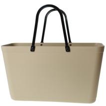 ...Perstorps väska, Sweden Bag, Stor (Green Plastic) - Warm Sand