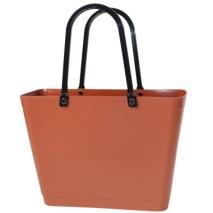 ...Perstorps väska, Sweden Bag (Green Plastic), Liten - Copper Brown