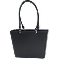 ...Perstorps väska, Sweden Bag med långa läderhandtag, Liten - Svart