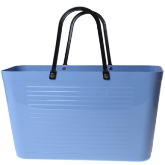 ...Perstorps väska, 1950 Original (Green Plastic) - Sky Blue / Himmelsblå