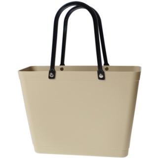 ...Perstorps väska, Sweden Bag (Green Plastic), Liten - Warm Sand