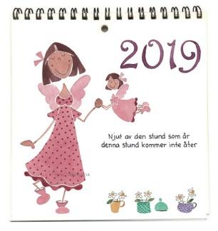 ..Kalender/Almanacka Änglar 2019, liten