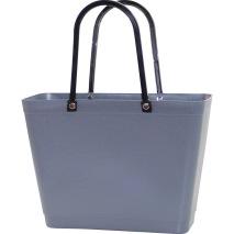 ...Perstorps väska, Sweden Bag med långa läderhandtag (Green Plastic), Liten - Grå