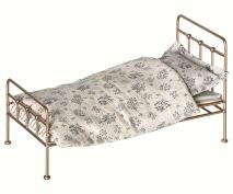 .Maileg, Vintage säng mini - guld