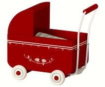 .Maileg, MY barnvagn Röd