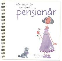 ..Vykortsalbum När man är en glad pensionär