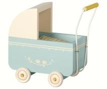 .Maileg, Micro blå barnvagn