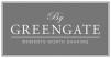 GreenGate Assiett Liten Marley dark grey
