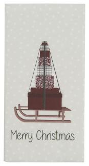.Servett - Ib Laursen Kälke med julklappar (Merry Christmas)