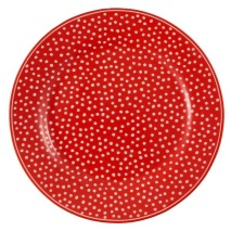 GreenGate Assiett, Dot red