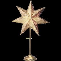 Stjärna på fot, Antique - Guld