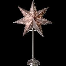 Stjärna på fot, Antique - Silver