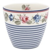 GreenGate Lattemugg Hailey stripe white