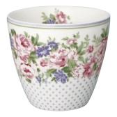 GreenGate Lattemugg Rose white
