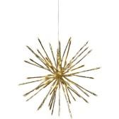 ...Firework, guld (dia: 40 cm)