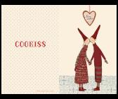 ..Kort - Maileg julkort Coo-kiss