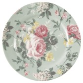 ...GreenGate Assiett Josephine pale mint