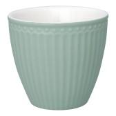 GreenGate Latte Mugg Alice dusty mint