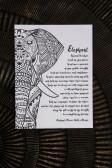 Maja, Elephant print