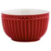 GreenGate Minibowl/liten skål Alice Red (röd)