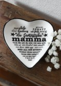 Maja, Mamma hjärtformat fat