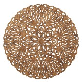 Carve Tempeltavla, rund natur (dia: 115 cm) - Beställningsvara