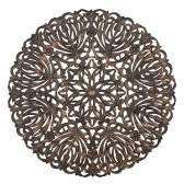 Carve Tempeltavla, rund svart (dia: 115 cm)
