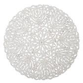 Carve Tempeltavla, rund vit (dia: 115 cm) - Beställningsvara
