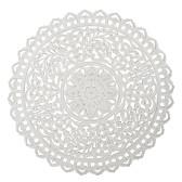 Carve Tempeltavla, rund vit (dia: 90 cm) - Beställningsvara