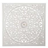 Carve Tempeltavla, vit (115x115) - Beställningsvara