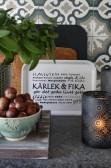 Majas Cottage vit bricka - Kärlek & fika
