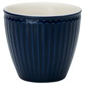 GreenGate Latte Mugg Alice Dark Blue