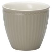 GreenGate Latte Mugg Alice Warm Grey