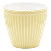 GreenGate Latte Mugg Alice pale yellow