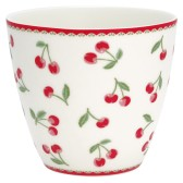 GreenGate Latte Mugg Cherry white