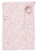 Chamois, Förkläde (kort) Small flower Rosa