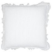 GreenGate Kuddfodral Cross White 50x50cm