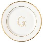 Greengate assiett mini, G gold