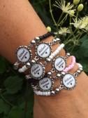 Armband med budskap - Fröken/Lärare (UJ)
