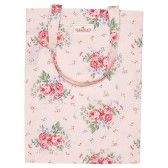 GreenGate Shopping kasse/tygkasse, Marley pale pink