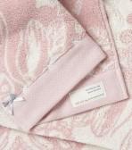 Odd Molly frottéhandduk, Daybreak Butterfly Soft Pink (50x70)