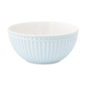 GreenGate Cereal Bowl Alice Pale Blue