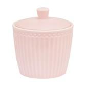 GreenGate Sockerskål Alice Pale Pink