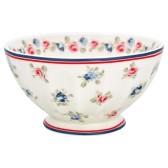 Greengate French Bowl, Hailey White XL