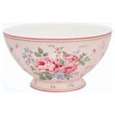 Greengate French Bowl, Marley pale pink XL