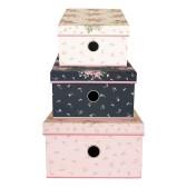 GreenGate, Kartong box/låda, Marley pale pink