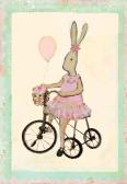 .Kort - Maileg (Kanin på cykel)