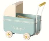 .Maileg, MY blå barnvagn