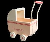 .Maileg, Micro puderrosa barnvagn