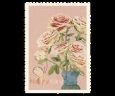 Kort - Maileg (Happy birthday, roses)